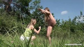 Flexible Teens Find Pleasure in Nature
