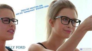 GIRLSWAY – Nerd Girls Turn Into Lesbians – Lilly Ford, Jill Kassidy