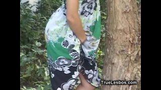 Latina Lesbian Licking GFs Wet Pussy