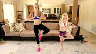 Lesbian sex after fitness lesson – Alexa Grace and Piper Perri