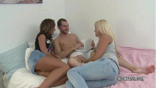 Liza and Anastasiya share some dick