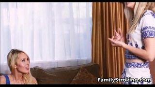 step mom teaches teen d. familystroking com