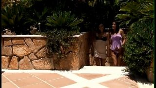 Two gorgeous clean hairless teens love to have lesbian enjoyment